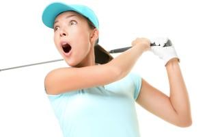 golfista donna