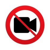 25705003-don-t-shoot-video-video-camera-sign-icon-red-prohibition-sign-stop-symbol-vector